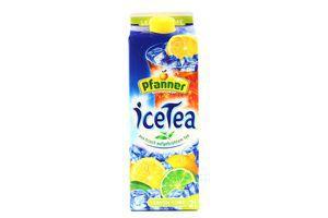 Напиток холодный чай Лимон-Лайм Pfanner 2л