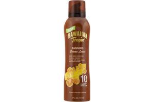 Hawaiian Tropic SPF UVB 10 Tanning Creme Lotion