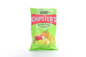 Чіпси хвил.паприка Flint Chipster's 70г