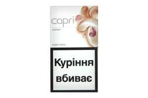 Сигареты Capri Super Slims Bianko 20шт