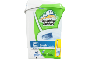 Scrubbing Bubbles Toilet Fresh Brush Starter Kit