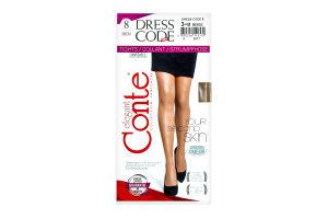 Колготи жін. DRESS CODE 8, р.3, beige 1 шт