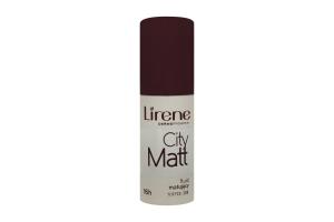 Крем тональний Lirene CityMatt матуруючий вирівн. тофі 30мл