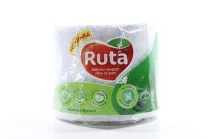 Бумага туалетная 2-х слойная Ruta 1шт
