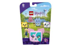 Конструктор для детей от 6лет №41665 Куб-кот со Стефани Friends Lego 1шт