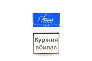 Сигареты Прима Оптима Синяя 20шт