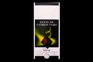 Шоколад темний з цедрою лайма Excellence Lindt к/у 100г