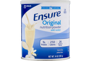 Ensure Original Nutrition Powder Vanilla