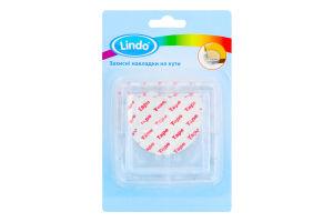 Накладки защитные на углы прозрачные №PK949 Lindo 4шт