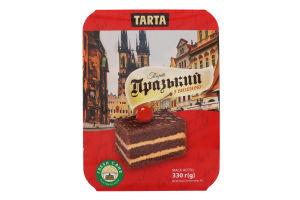 Торт бісквітний Празький з вишнею Tarta п/у 330г