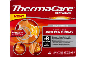 ThermaCare Heatwraps Advanced Joint Pain Therapy - 4 CT