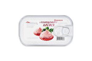 Паштет из исландского лосося Food Stock ж/б 125г