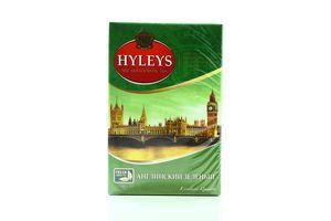 Чай зеленый крупнолистовой English green Hyleys к/у 100г