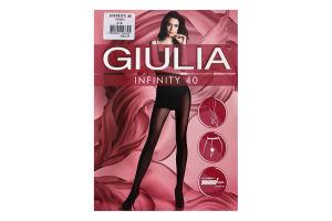 Колготки жіночі Giulia Infinity 40den 2-S nero