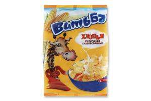 Пластівці кукурудзяні глазуровані Витьба м/у 330г