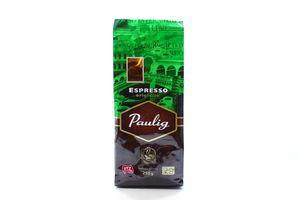 Кофе молотый Espresso Paulig 250г