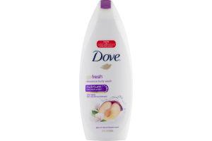 Dove Go Fresh Rebalance Body Wash Plum & Sakura Blossom Scent