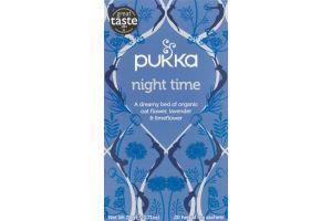 Pukka Night Time Herbal Tea Sachets - 20 CT