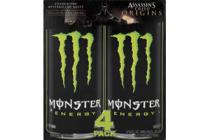 Monster Energy Drink - 4 PK