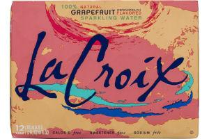 La Croix Sparkling Water Grapefruit - 12 CT