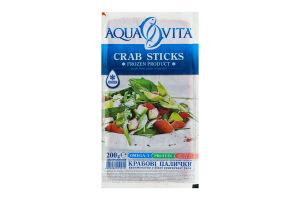 Палочки крабовые замороженные Aqua Vita в/у 200г