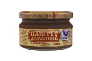 Паштет со сливочным маслом Домашний Онисс с/б 200г