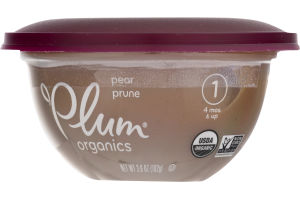 Plum Organics Pear Prune