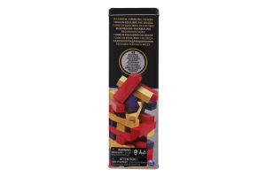 Гра настільна для дітей від 6 років №SM98365/6033150 Дженга з кольоровими брусочками Spin Master 1шт