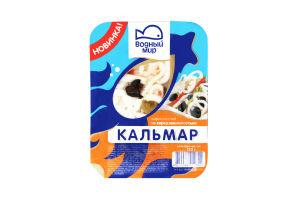 Кальмар Водний Мир маринований по-середноморськи 120г х12