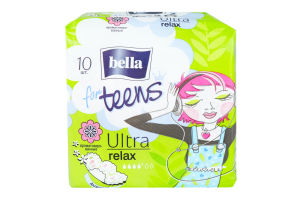 Прокладки for Teens Relax ultra Bella 10шт