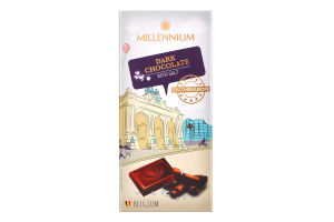 Шоколад черный с солью Discover Europe Millennium к/у 100г