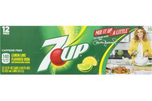 7 UP Soda Lemon Lime - 12 PK