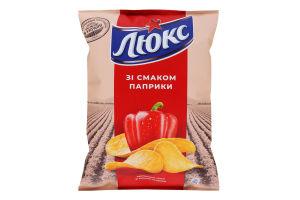 Чипсы картофельные Паприка Люкс м/у 71г