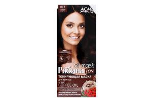 Маска тонуюча для волосся Рябина Ton Oil Mask №043 Acme Color 1шт