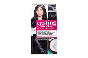 Краска для волос Casting Черный перламутр 210 L`oreal