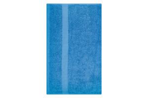 Полотенце махровое синее 50х90см 400г/м2 Саффран 1шт