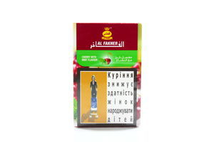 Тютюн для кальяну Al Fakher Вишня та м'ята 50гp