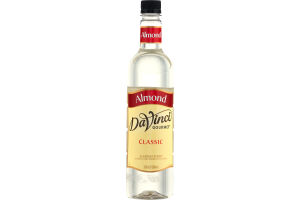 DaVinci Gourmet Classic Almond Syrup