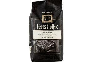 Peet's Coffee Sumatra Deep Roast Ground Coffee
