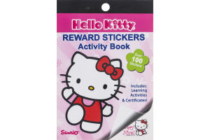 Hello Kitty Reward Stickers Activity Book