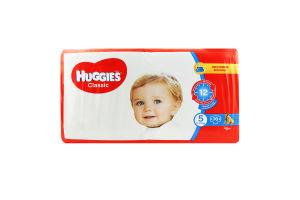 Підгузники для дітей 11-25кг 5 Classic Huggies 70шт