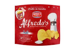 Чипсы Alfredo's картофельные с солью