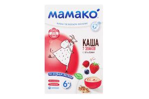 Каша на козьем молоке для детей от 6мес 7 злаков с ягодами Мамако к/у 200г