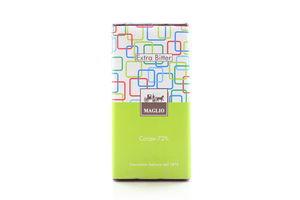 Шоколад Maglio екстра гіркий 72% какао 100г х24