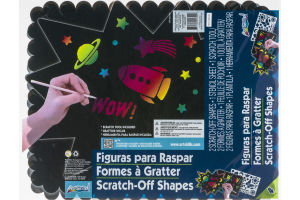 ArtSkills Scratch-Off Shapes - 2 CT