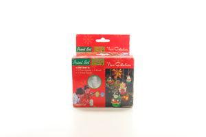 Набір для дитячої творчості Ведмідь+3 краски+коробка