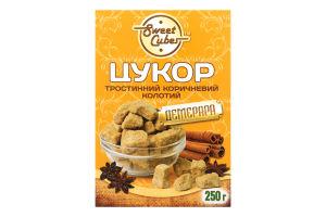 Сахар тростниковый коричневый колотый Демерара Sweet Cubes к/у 250г