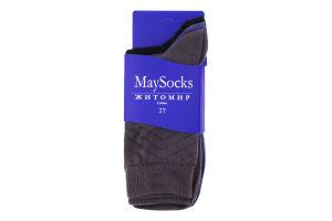 Шкарпетки чоловічі MaySocks Класика №Ч-332002-27 27 3пари