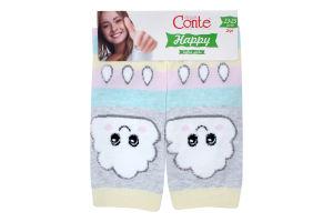 Шкарпетки жіночі Conte Happy №18С-268СП 23-25 424 світло-сірий