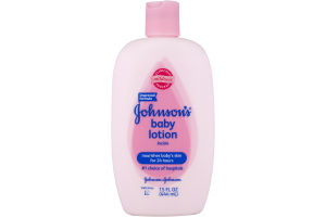 Johnson's Baby Lotion Nourishes Baby's Skin for 24 Hours